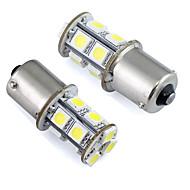 Недорогие Задние фонари-2pcs Автомобиль Лампы 1W SMD 5050 Светодиодная лампа Задний свет