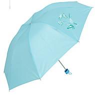 Недорогие Защита от дождя-Синий / Розовый Резиновые сапоги Солнечный и дождливой Plastic Путешествия