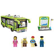 Zabawkowe samochody Zabawki Budowlane Autobus Zabawki Autobus Dla chłopców Chłopcy Sztuk
