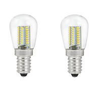 お買い得  LED ボール型電球-ONDENN 2pcs 2700-3000/6000-6500lm E14 LEDボール型電球 C35 104PCS LEDビーズ SMD 3014 装飾用 温白色 クールホワイト 220-240V