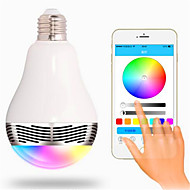 ieftine -RGB Wireless Others Wireless Bluetooth 4, colorful dimming LED lights Ivory