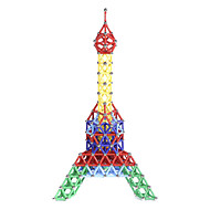 Magnetic Toy Magnetic Sticks Magnet Toys Building Blocks Magnetic Building Sets 157 Pieces Toys Plastic Metal Magnetic Novelty Eiffel