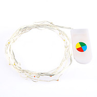장식을위한 조명의 2m 따뜻한 / 흰색 색상 led 문자열
