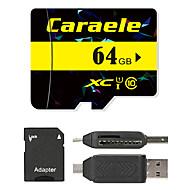 Caraele 65GB 마이크로 SD 카드 TF 카드 메모리 카드 UHS-I U1 CLASS10