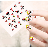 cheap Makeup & Nail Care-1pcs  Water Transfer Nail Art Stickers  Lovely Cartoon Expression Mickey Nail Art Design STZ61-65