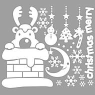 Animales / Navidad / Palabras y Frases / Romance / Día Festivo / Formas Pegatinas de pared Calcomanías de Aviones para Pared,vinyl 73*63cm