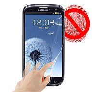 матовая защитная пленка для Samsung Galaxy S3 i9300 (3 шт)