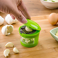 New Multifunction Plastic Garlic Press Presser Crusher Slicer Grater Dicing Slicing And Storage Kitchen Vegetable Tools