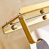 abordables Gadgets de Baño-Soporte para Papel Higiénico Moderno Latón 1 pieza - Baño del hotel