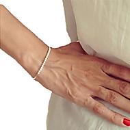 Dame Strand Armbånd Unikt design Perler Håndlavet kostume smykker Mode Perle Smykker Smykker Til Fest Daglig Julegaver