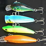 お買い得  釣り用アクセサリー-1 pcs 個 ハードベイト / ルアー ハードベイト / メタルベイト 硬質プラスチック 多機能 ベイトキャスティング / 一般的な釣り