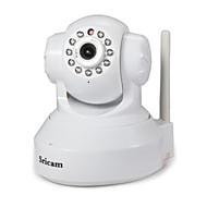 billige -Sricam 1.0 MP Innendørs with IR-kutt 128G(Dag Nat Bevegelsessensor Fjernadgang Wi-Fi Beskyttet Setup Plug and play) IP Camera