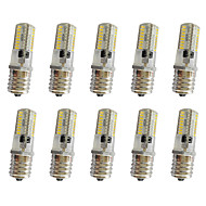 3W E17 LED Corn Lights T 64 leds SMD 3014 250-350lm Warm White Cold White Dimmable AC220