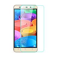 お買い得  スクリーンプロテクター-スクリーンプロテクター のために Huawei Huawei Honor 4X 強化ガラス 1枚 ハイディフィニション(HD)