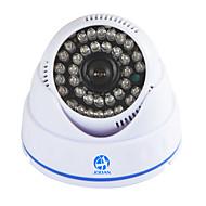 jooan®700tvlセキュリティ監視CCTVカメラドームビデオモニター36 IR led夜間視野屋内