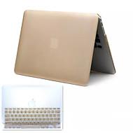 myydyin metalli tyyli pvc kova koko kehon kotelo ja TPU näppäimistön suojus MacBook Pro 13,3 tuumaa (eri värejä)