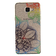 preiswerte Handyhüllen-Hülle Für Samsung Galaxy A5(2016) / A3(2016) IMD / Transparent / Muster Rückseite Blume Weich TPU für A5(2016) / A3(2016) / A5