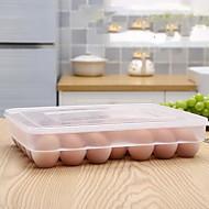 abordables Almacenamiento de alimentos y recipientes-Organización de cocina Tupperwares Plástico Fácil de Usar 1pc