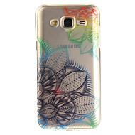 Voor IMD Transparant Patroon hoesje Achterkantje hoesje Bloem Zacht TPU voor Samsung J5 (2016) J5 J3 J3 (2016) Grand Prime