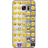 お買い得  Samsung 用 ケース/カバー-ケース 用途 Samsung Galaxy S7 edge S7 超薄型 クリア パターン バックカバー カートゥン ソフト TPU のために S7 edge S7 S6 edge plus S6 edge S6