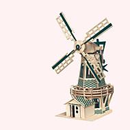 Fából készült építőjátékok Szélmalom Játékautók Játékok Szélmalom Népszerű épület Kínai építészet Ház szakmai szint Fiú Lány 1 Darabok