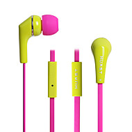 HUAST HST-15 Mobile Phone Headset Wire With Colorful Color Wheat Ear Type Universal Headset