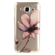 cheap Cases / Covers for Samsung-Case For Samsung Galaxy J5(2016) J3(2016) IMD Transparent Pattern Back Cover Flower Soft TPU for J5 (2016) J5 J3 (2016) J3 Grand Prime