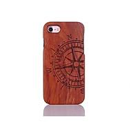 Carcasă Pro Apple iPhone 7 / iPhone 6 / Pouzdro iPhone 5 Nárazuvzdorné / Vytlačený vzor / Vzor Zadní kryt Slovo / citát Pevné Dřevěný pro iPhone 7 Plus / iPhone 7 / iPhone 6s Plus