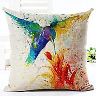 cheap Home Textiles-1 pcs Linen Pillow Case, Animal Print Graphic Prints Casual Euro Country Retro