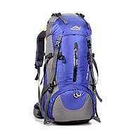 저렴한 -45 L 백패킹 배낭 하이킹 배낭 여행 더플 배낭 캠핑&등산 여행 방수 비 방지 먼지 방지 착용 가능한 다기능 전화/Iphone 나일론 huwaijianfeng