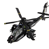 cheap Toys & Hobbies-Toys Model Building Kits Toys Retractable Fighter Helicopter Plastic Metal Classic & Timeless Chic & Modern 1 Pieces Boys' Girls'