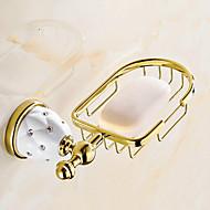 billige Badeværelsesartikler-Sæbeskål / Gylden Moderne