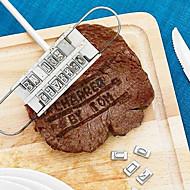 Χαμηλού Κόστους -Εργαλεία κουζίνας Ξύλο Δημιουργική Κουζίνα Gadget DIY Mold για κρέας 1pc
