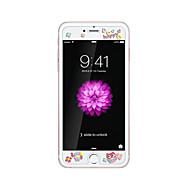 iPhone 6 / 6s 4.7inch karkaistu lasi läpinäkyvä edessä näytön suojakalvon kanssa emboss piirretty kuvio loistaa pimeässä pöllö