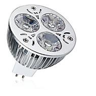 お買い得  LED スポットライト-1個 9W 600-700lm MR16 LEDスポットライト 3 LEDビーズ ハイパワーLED 装飾用 温白色 クールホワイト 12V