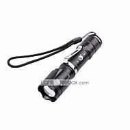 U'King LED Flashlights / Torch LED 2000 lm 5 Mode Cree XM-L T6 Adjustable Focus Zoomable for Camping/Hiking/Caving Everyday Use