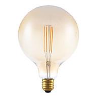cheap LED Filament Bulbs-GMY® 1pc 4W 350lm E27 LED Filament Bulbs G125 4 LED Beads COB Dimmable Decorative Amber 220-240V