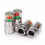 Недорогие Крышки клапанов-ziqiao 4шт / установленное давление шины для легковых автомобилей монитор штока клапана крышки датчика оповещения Индикатор глаз
