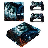 B-SKIN Tarra Käyttötarkoitus PS4 ,  Tarra PVC 1 pcs yksikkö