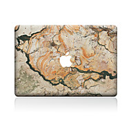 Χαμηλού Κόστους Αυτοκόλλητα για Mac-1 τμχ Αυτοκόλλητο Καλύμματος για Προστασία από Γρατζουνιές Μάρμαρο Μοτίβο PVC MacBook Pro 15'' with Retina MacBook Pro 15 '' MacBook Pro