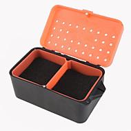 voordelige Visaccessoires-rode worm doos regenworm doos met meerdere - functionele met spons regenworm doos koele vissen levend aas doos