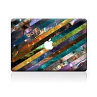 halpa -1 kpl Naarmunkestävä Geometrinen Läpinäkyvä muovi Tarrakalvo Kuviointi VartenMacBook Pro 15'' with Retina MacBook Pro 15 '' MacBook Pro