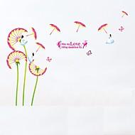 preiswerte -Tiere Botanisch Blumen Wand-Sticker Flugzeug-Wand Sticker 3D Wand Sticker Dekorative Wand Sticker Foto Sticker,Papier Vinyl StoffHaus