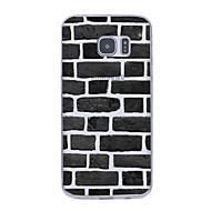 Недорогие Чехлы и кейсы для Galaxy S6 Edge Plus-Кейс для Назначение SSamsung Galaxy S7 edge S7 Ультратонкий С узором Кейс на заднюю панель Геометрический рисунок Мягкий ТПУ для S7 edge