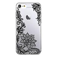 Til iPhone X iPhone 8 Etuier Ultratyndt Transparent Mønster Bagcover Etui Blonde Tryk Blødt TPU for Apple iPhone X iPhone 8 Plus iPhone 8