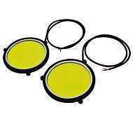 お買い得  -JIAWEN 2pcs 車載 電球 3.6W COB LED 外部照明 / 作業灯 / ウィンカー