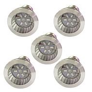 billige Vækstlamper-5pcs 3.5W 100 lm E14 GU10 E27 Voksende lyspærer 6 leds SMD 5730 Blå Rød AC 85-265V