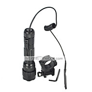 cheap Flashlights, Lanterns & Lights-U'King LED Flashlights / Torch LED 2000 lm 5 Mode Cree XM-L T6 with Remote Controller Camping/Hiking/Caving Everyday Use Outdoor
