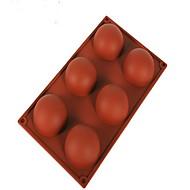 Χαμηλού Κόστους Εργαλεία Κουζίνας-1 pcs ψήσιμο DIY / κέικ που διακοσμεί / ψήσιμο Εργαλείο Ψωμί / Κέικ / Μπισκότα / Σοκολατί / Πάγος / Cupcake Σιλικόνη Καλούπια Ψησίματος