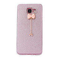 cheap Cases / Covers for Samsung-Case For Samsung Galaxy A5(2016) A3(2016) Frosted DIY Back Cover Glitter Shine Soft TPU for A5(2016) A3(2016)